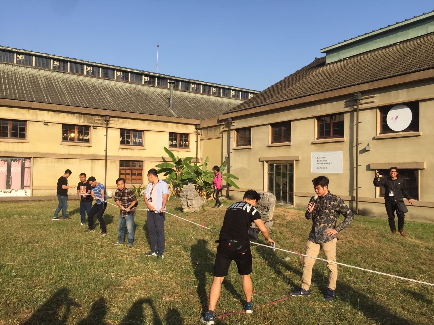 Tug of War Competition. Source: Documentation of ICF Chiayi.