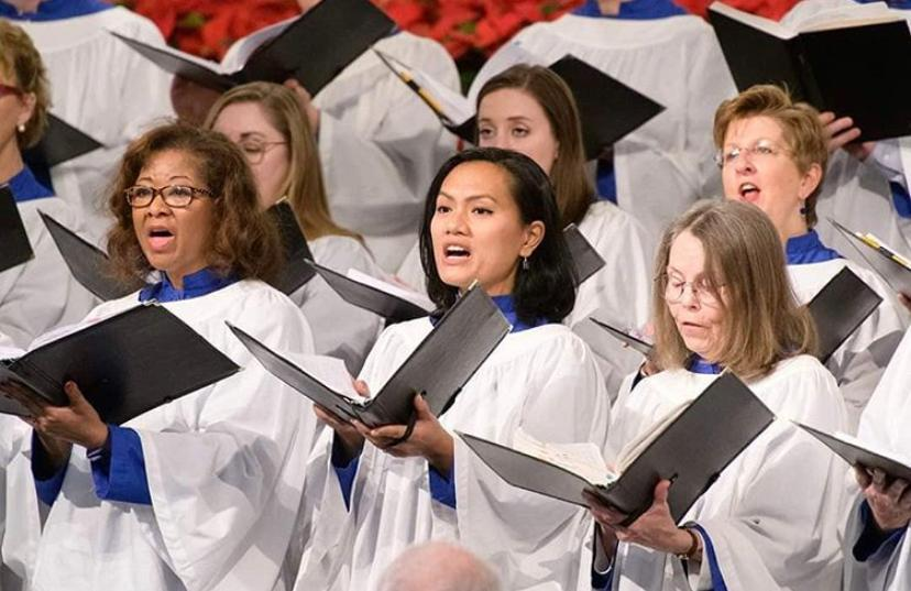 Listra was a member of Duke Chapel Choir (photo by Duke Chapel Choir).
