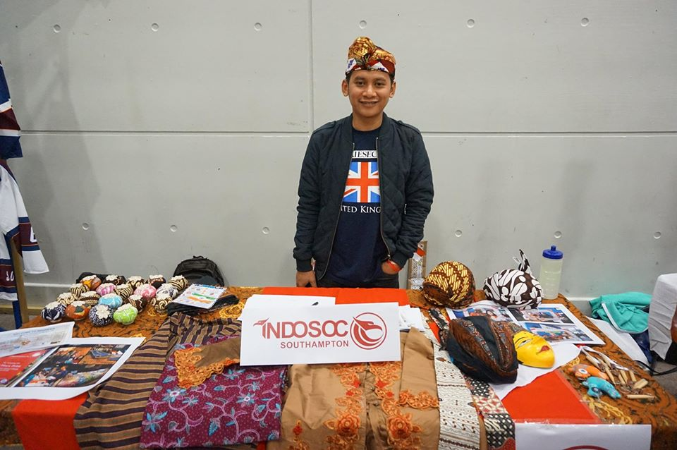 IndoSoc stall in Global Village. Source: Southampton University IndoSoc Facebook