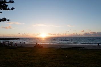 Pantai yang kerap saya kunjungi untuk melepas penat sambil menikmati matahari terbenam