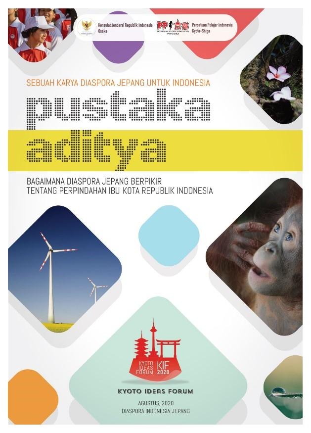 """Rencana buku berjudul Pustaka Aditya dengan tema """"Bagaimana Diaspora Jepang Berpikir Tentang Perpindahan Ibu Kota Republik Indonesia"""", yang akan di produksi setelah proses pengumpulan esai dari diaspora dan acara Public Discussion dilaksanakan."""