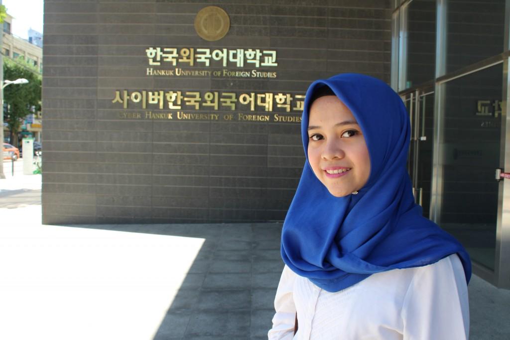 Hankuk University of Foreign Studies where I did my exchange program.
