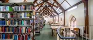 The Franciscan Library at the University of Buckingham. Source: University of Buckingham official website.