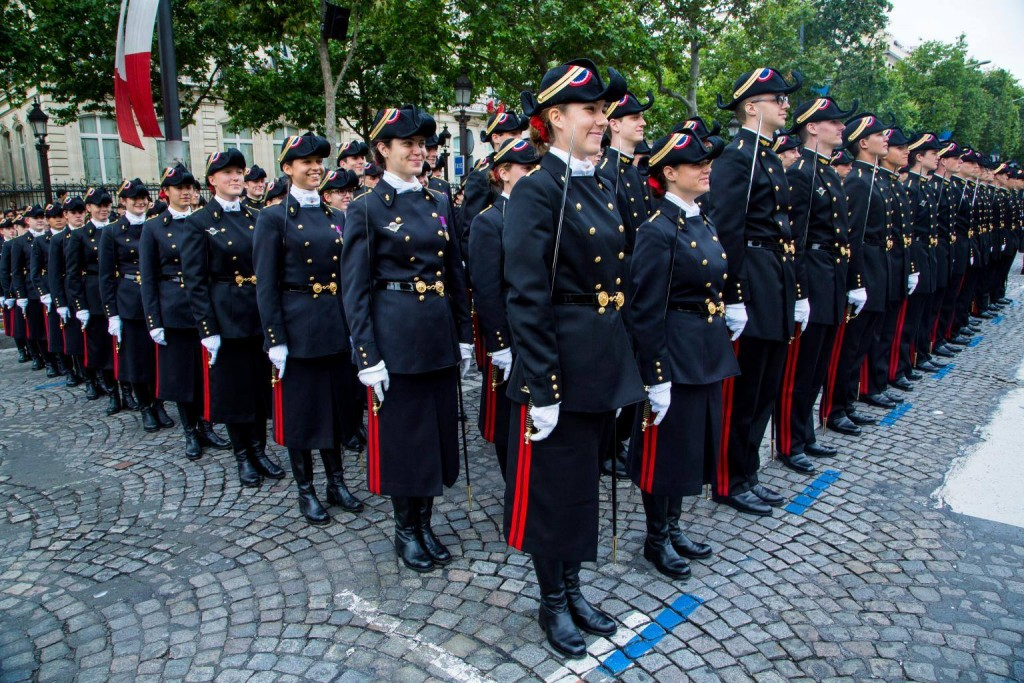 Ilustrasi kegiatan militer di kampus. Sumber: website Smapse Education