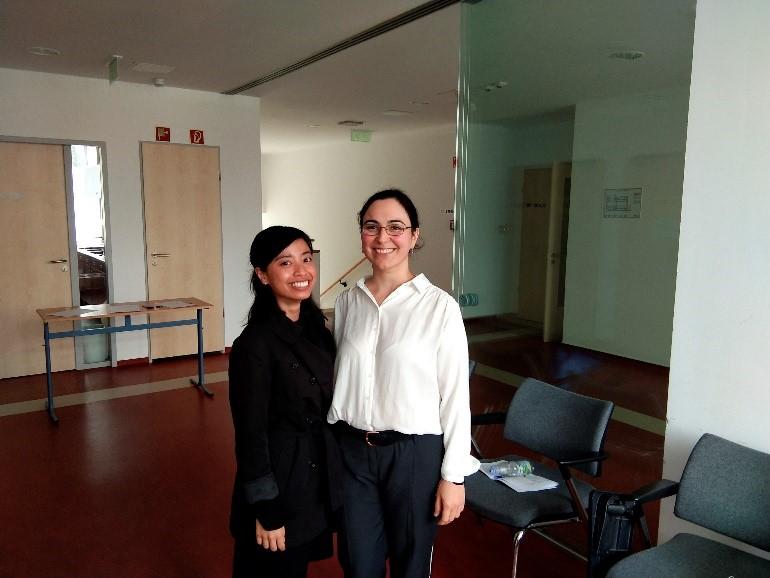 Setelah ujian komprehensif semester ke-empat Széchenyi István University, Győr, Hungary bersama rekan PhD dari Azerbaijan (Juni 2020)