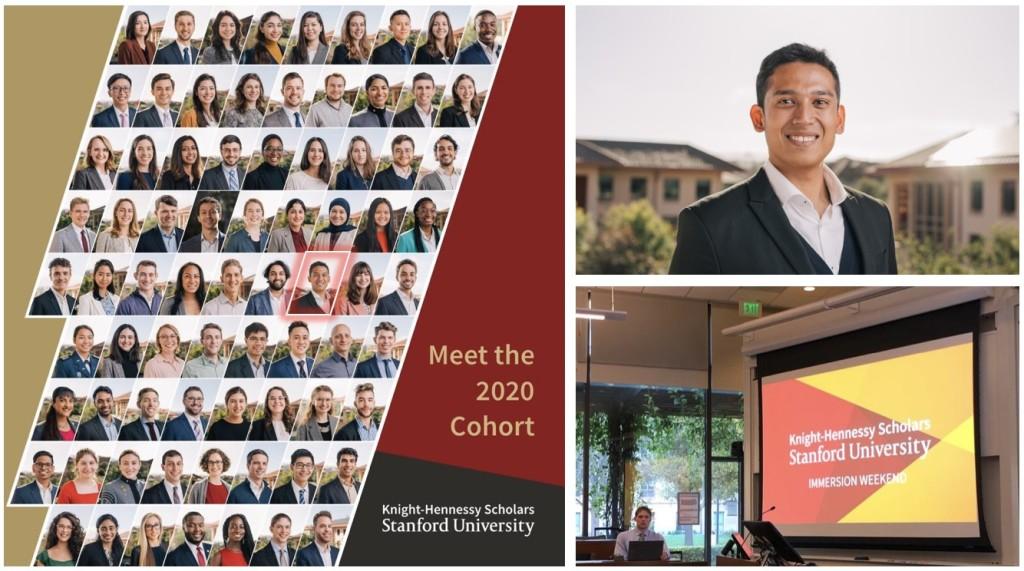 Stanford University Knight-Hennessy Scholar, 2020 cohort.