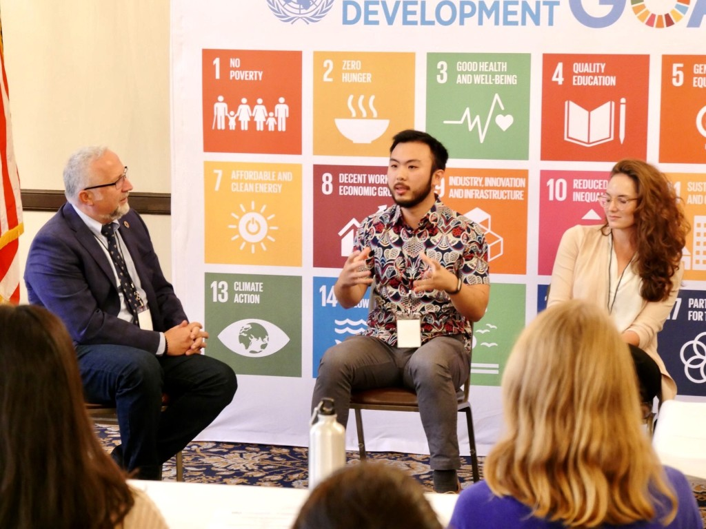 One time I got invited to share my thoughts about Sustainable Development Goals at a local UN Association event