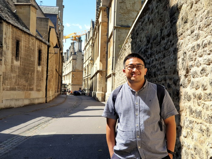 Indonesian DPhil student Indra Rudiansyah encourages people to keep folowing health protocols until the vaccine can be produced, which according to him will take a significant amount of time
