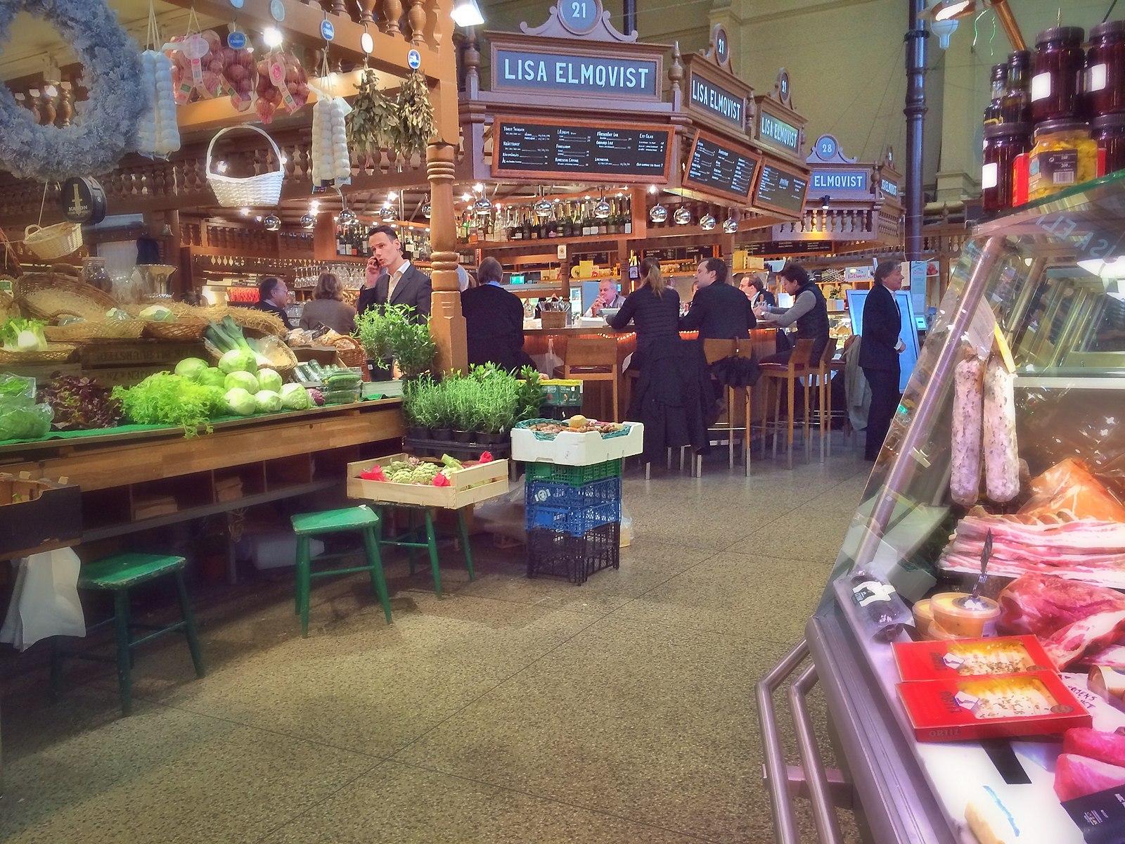 Salah satu pasar artisan di Stockholm (Sumber: Unsplash)
