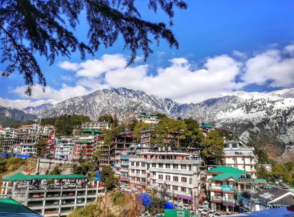 February 2019 – First day in Mcleod Ganj. It was winter, cold and beautiful!