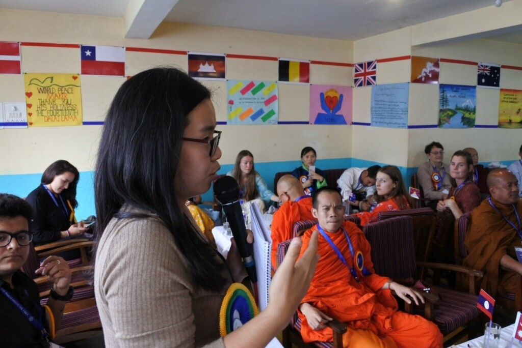 July 2019 (Volunteering) – World of Compassion in Action Day. Gathered more than 20 countries and talk about Compassion in Action. This is one of my activity during my stay in Dharamshala!