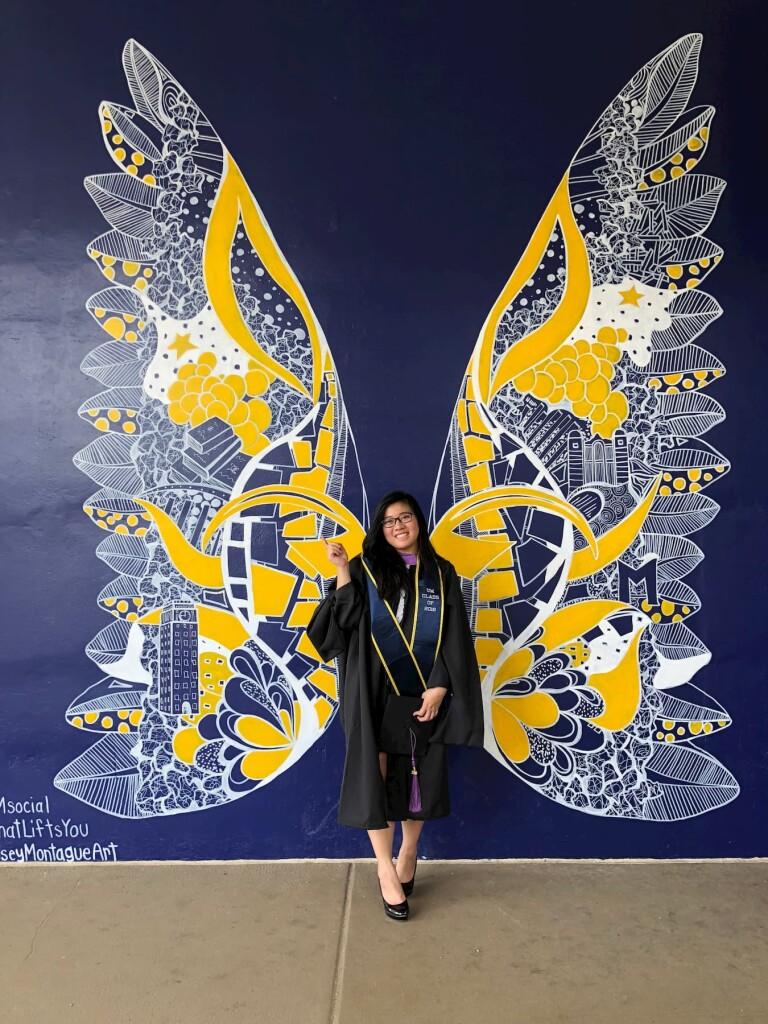 Shannen after graduating
