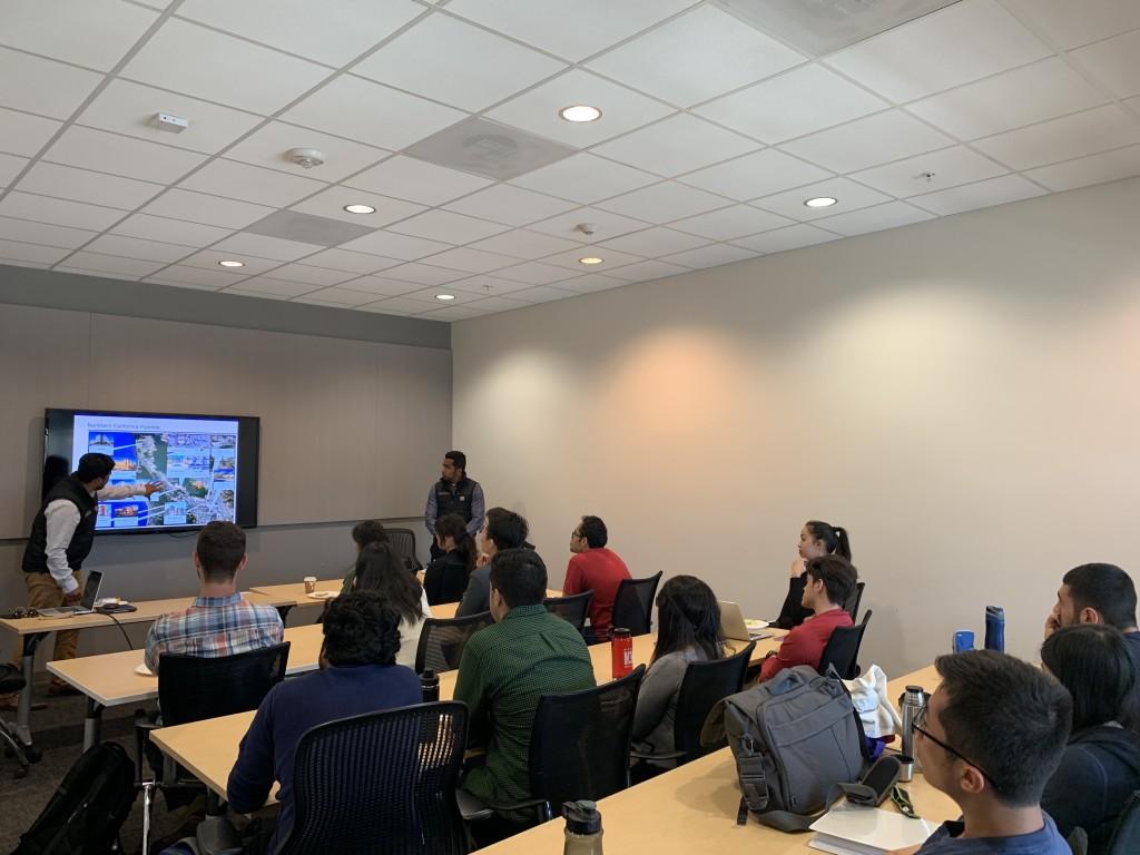 Robin delivered a presentation at Stanford Alumni Seminar.