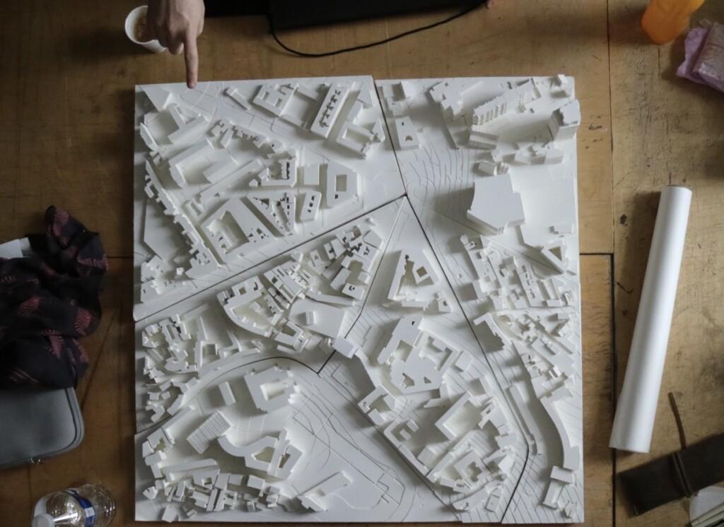 Site model of Paris project