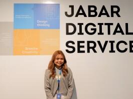 At Jabar Digital Service Office. Source: Personal documentation.