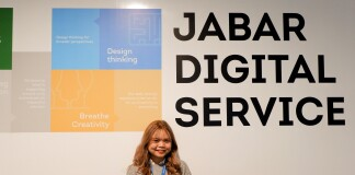 At Jabar Digital Service Office. Source: Personal documentation.