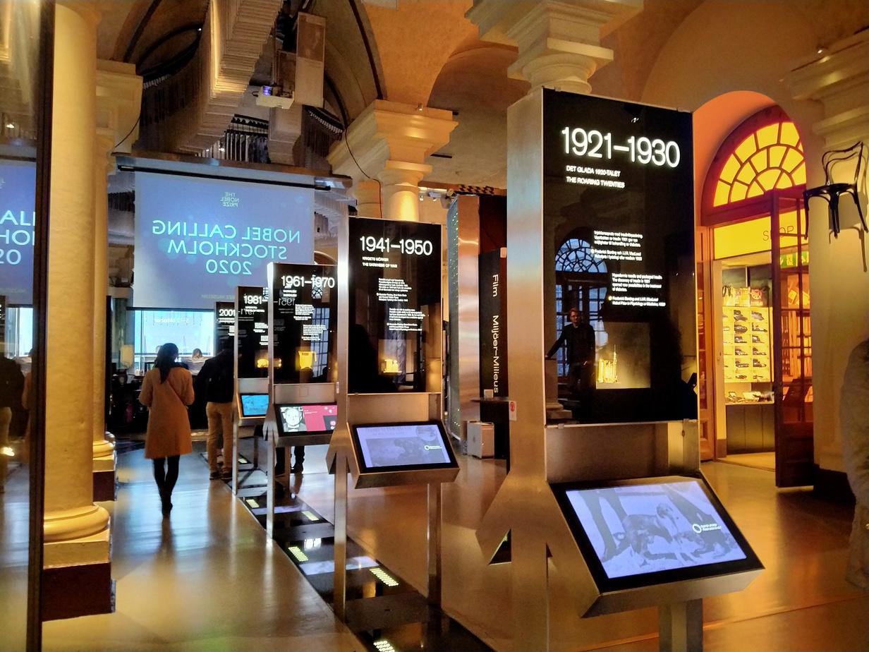 Isi Nobel Prize Museum