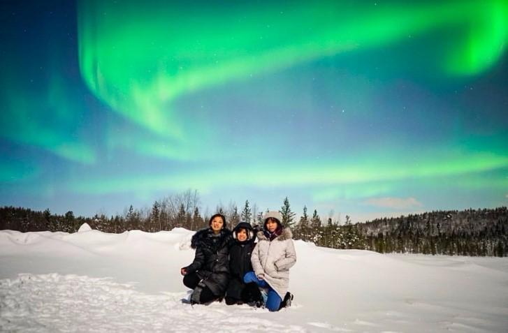 Berburu Aurora di Murmansk, Rusia. Sumber: dokumentasi pribadi.