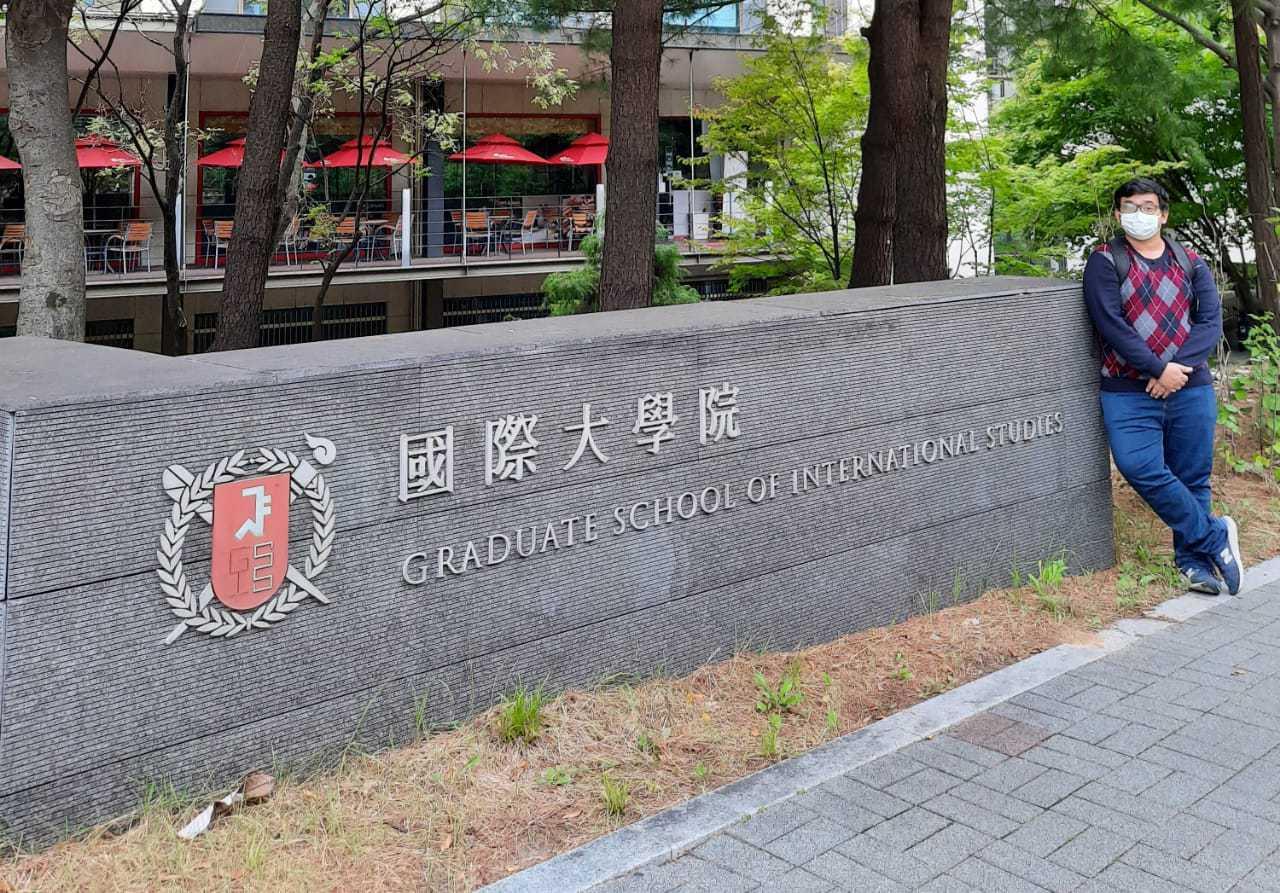 Fasade depan SNU Graduate School of International Studies, tempat kini saya melanjutkan studi.