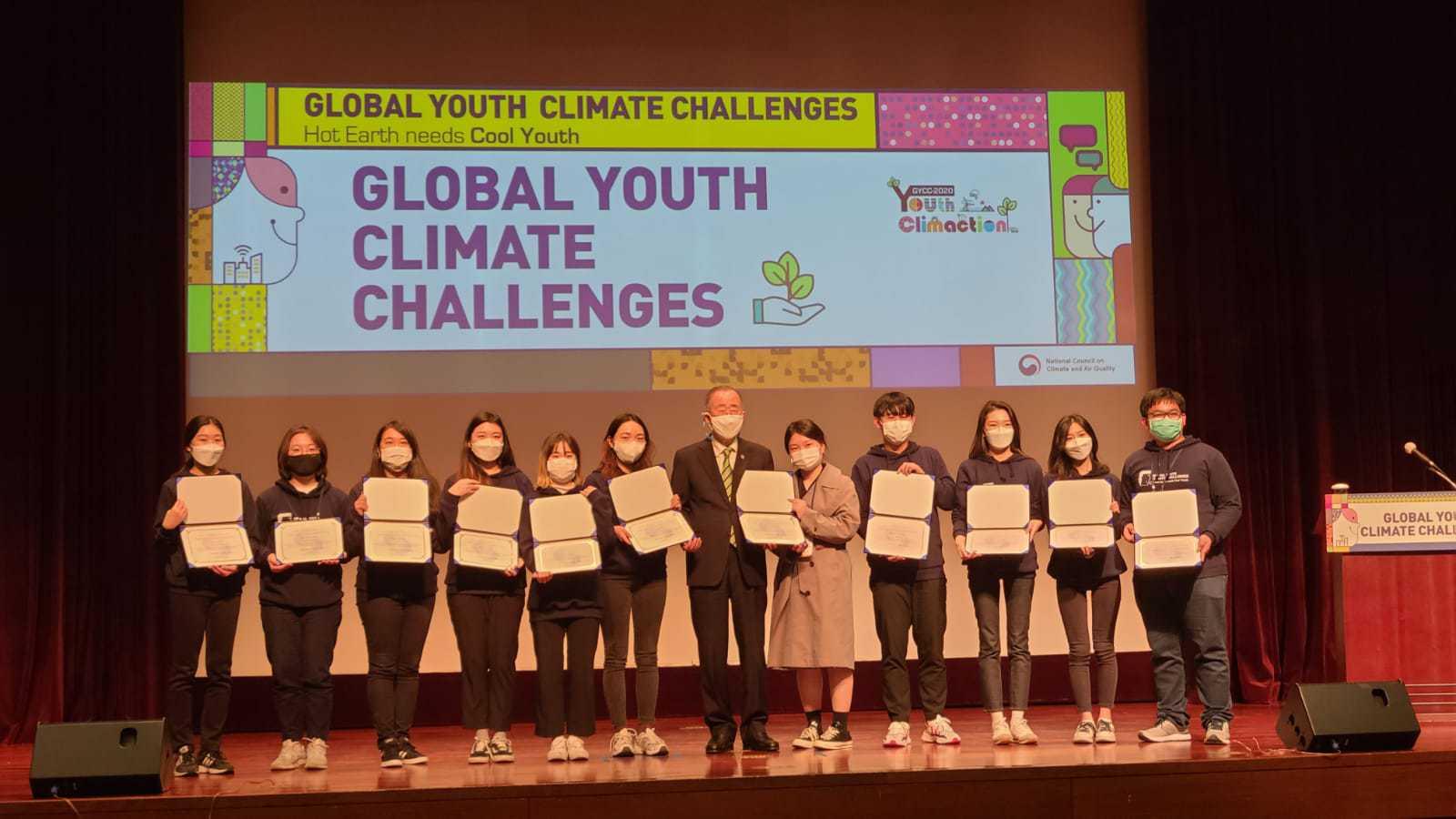 Mengikuti Global Youth Climate Challenges 2020 yang dipimpin Sekjen PBB ke-8 Ban Ki-moon.
