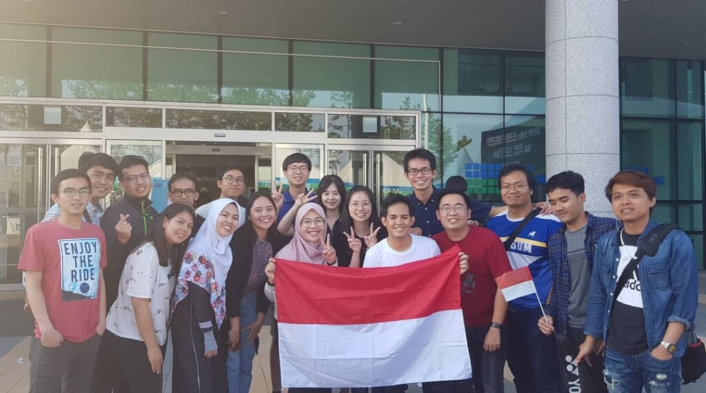 Nonton Korea Open bersama Diaspora Indonesia. Sumber: Corwin