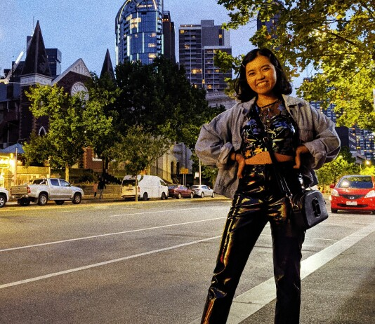 Sharin Yofitasari in Melbourne. Source: Personal documentation