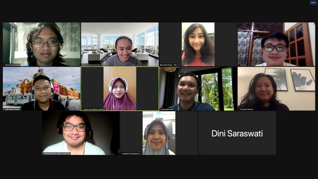 Latest e-meeting with Indonesia Mengglobal Editorial Team 2020