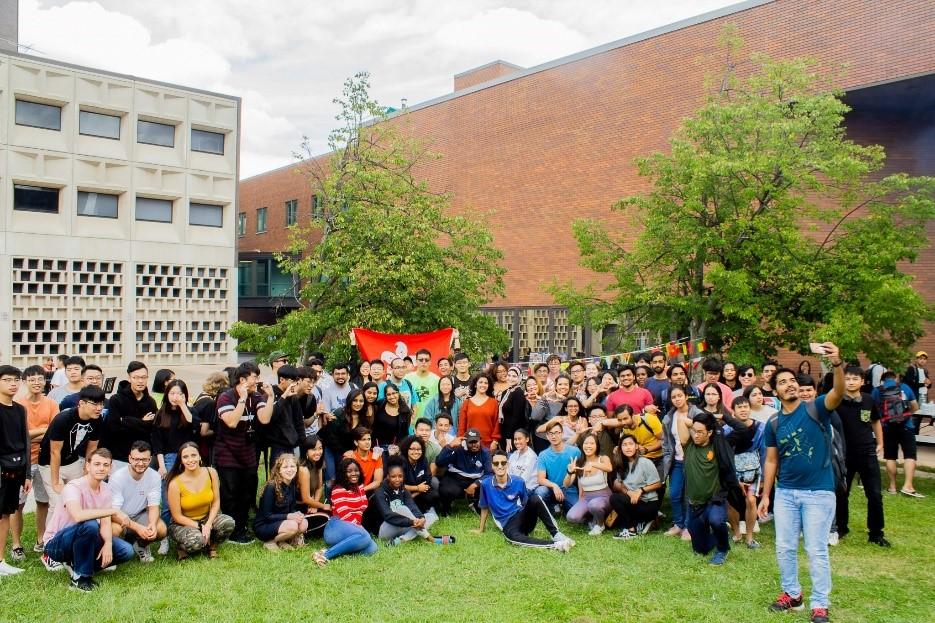 Acara gathering mahasiswa internasional yang diselenggarakan oleh International Council. (Sumber: dokumentasi pribadi)