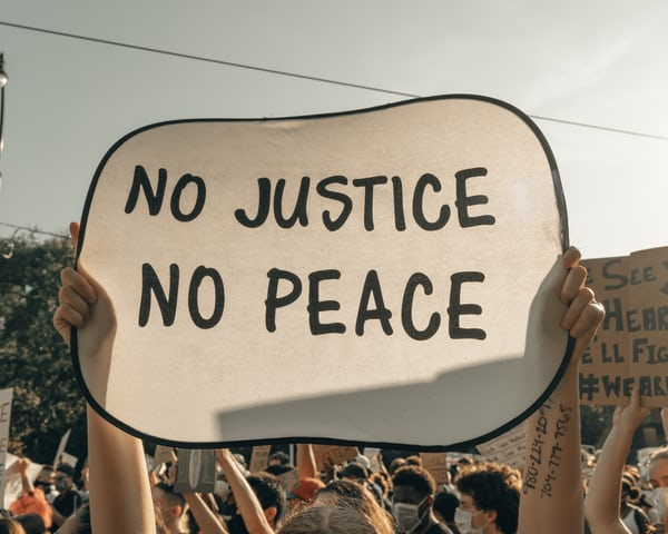 True peace could only be attained when there is justice for all. Source: Clay Banks on Unsplash https://unsplash.com/photos/N32JLRTANCQ