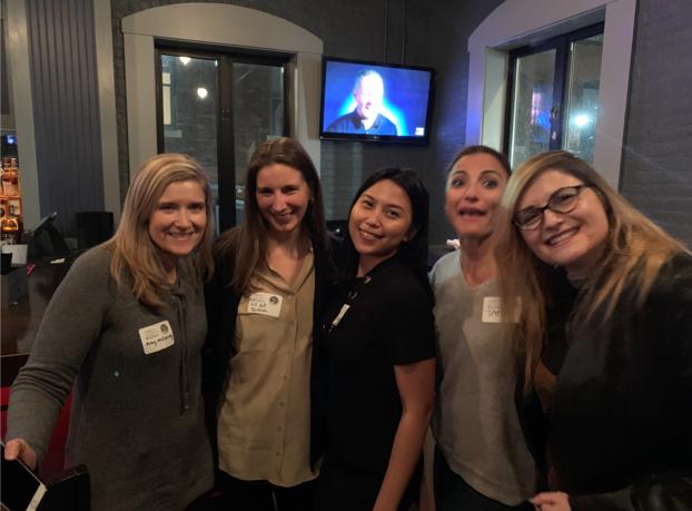 Armaya Doremi with women marketers in Boston in Networking event in Boston