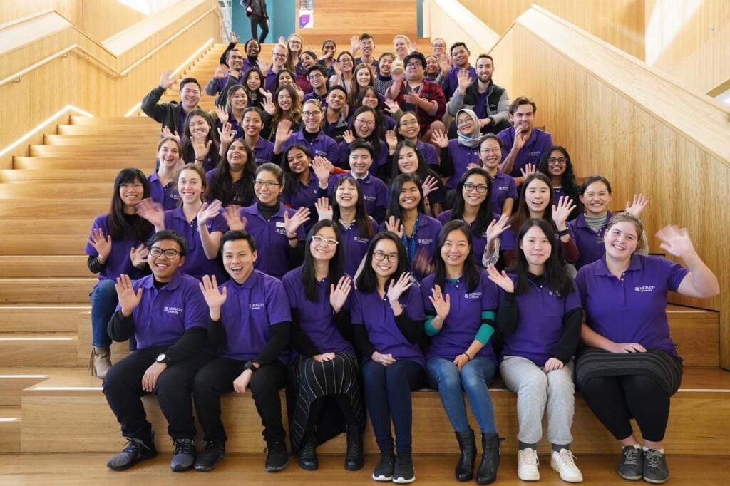 Farah beserta seluruh Education Students Ambassador saat kegiatan Leadership Day. Sumber: Education Students Ambassador