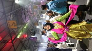 Menari tarian Betawi di Victorian Market bersama klub tari Lenggok Geni. Sumber: Dokumentasi pribadi