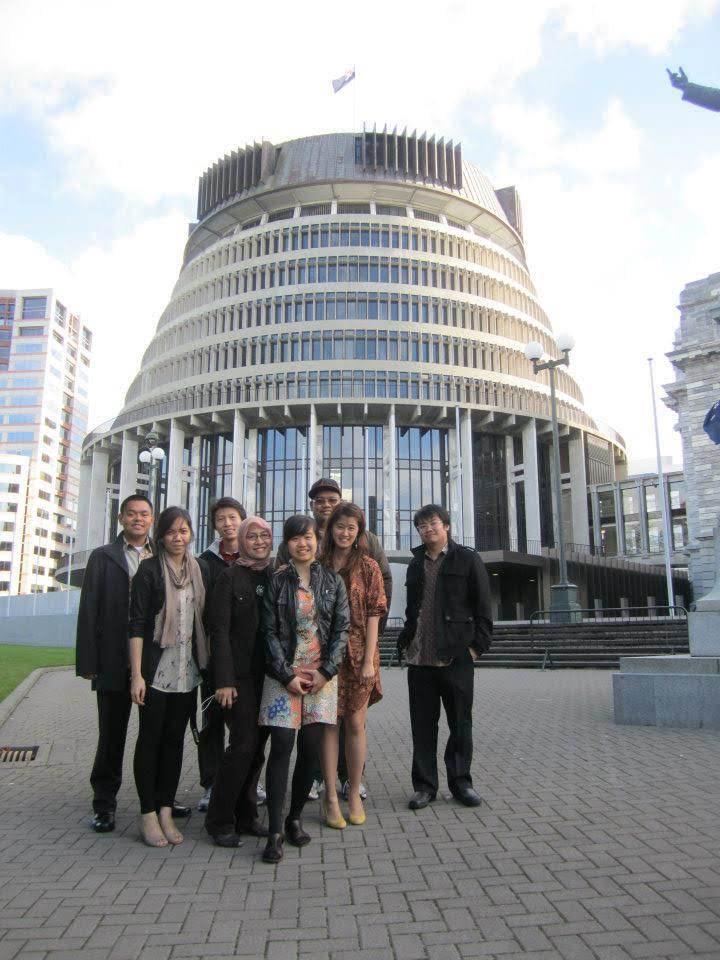 Saat berkunjung ke Wellington. Sumber: Dokumentasi pribadi