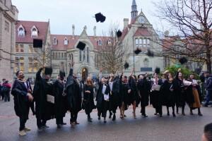 Winter graduation in Manchester