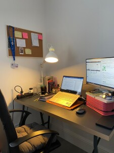 My working desk @ home