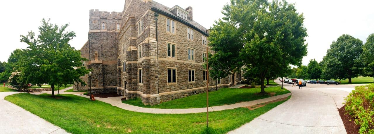 A dormitory building at VTech