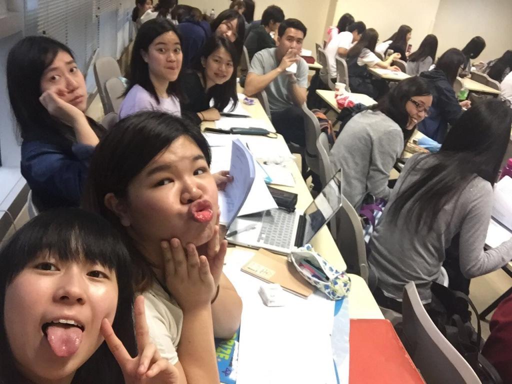 Fashion and Textile Tech students at HK PolyU