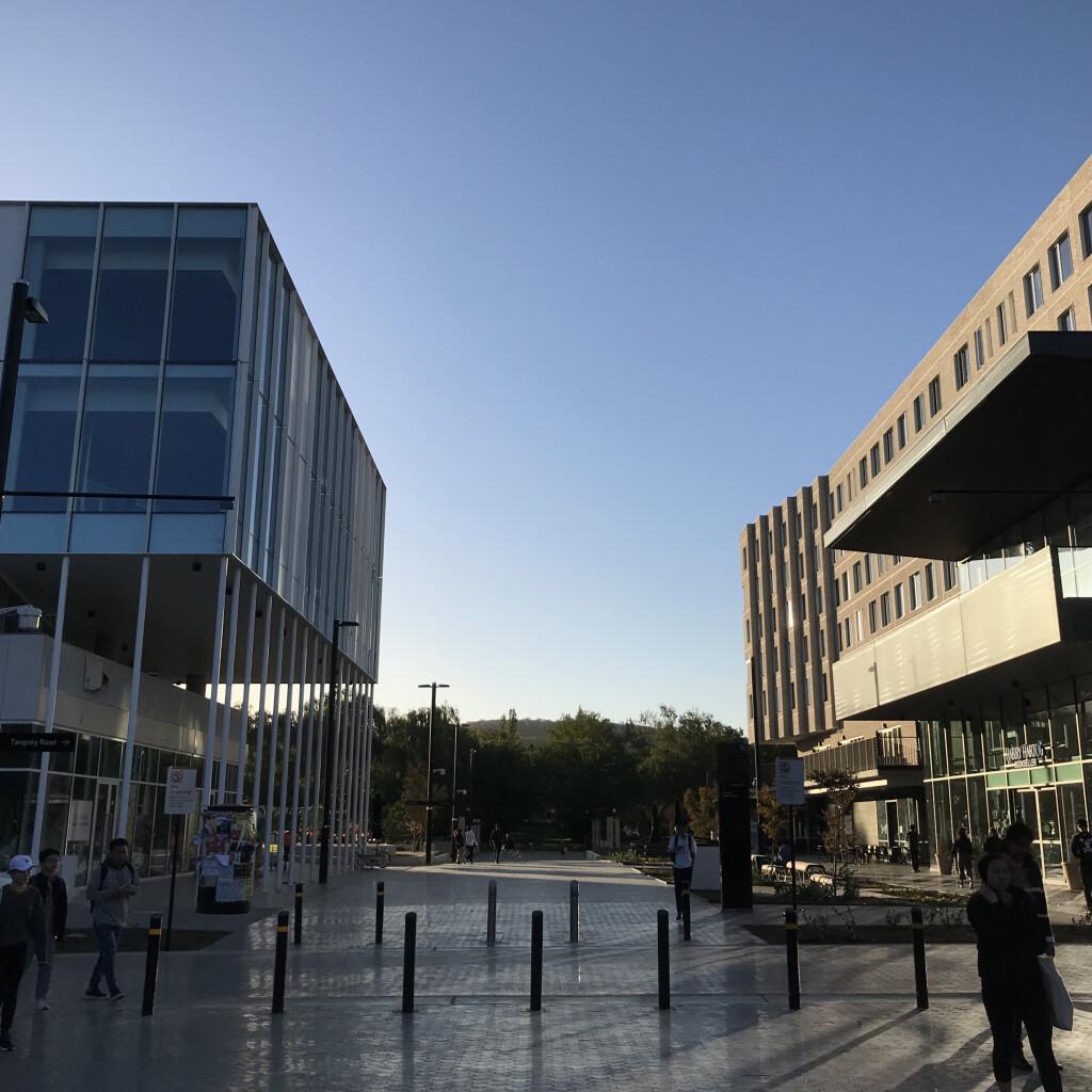 Australia National University campus entrance. Source: Personal documentation