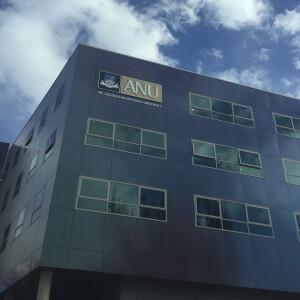 Australian National University campus building. Source: Personal documentation