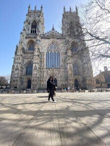 First trip in the UK, the beautiful York Minster.