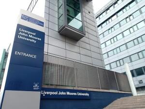 Liverpool John Moores University, tempat Almira mengenyam pendidikan magister Cosmetic Science