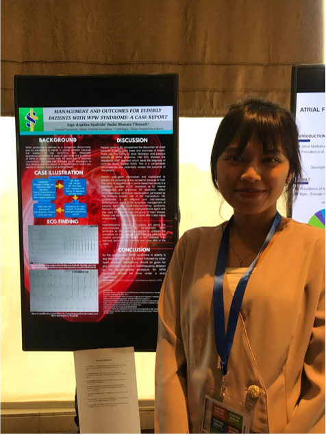 I attended some cardiovascular symposium when I was in Indonesia and submitted a case report poster as I really into everything about human