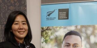Alvina secara resmi dikukuhkan menjadi awardee NZAS 2020. Sumber: Dokumentasi pribadi