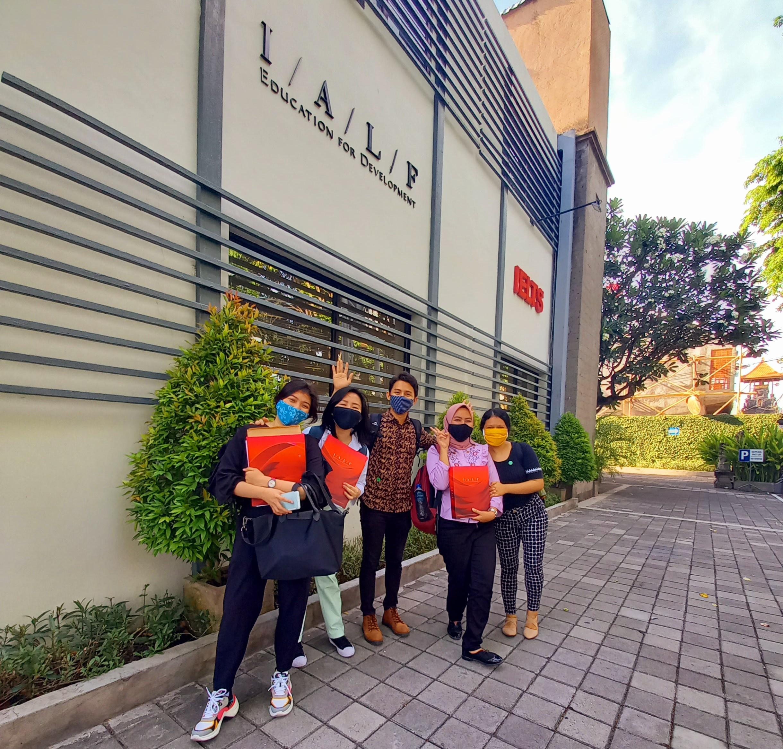 Pre-departure training NZAS di Bali. Sumber: Dokumentasi pribadi