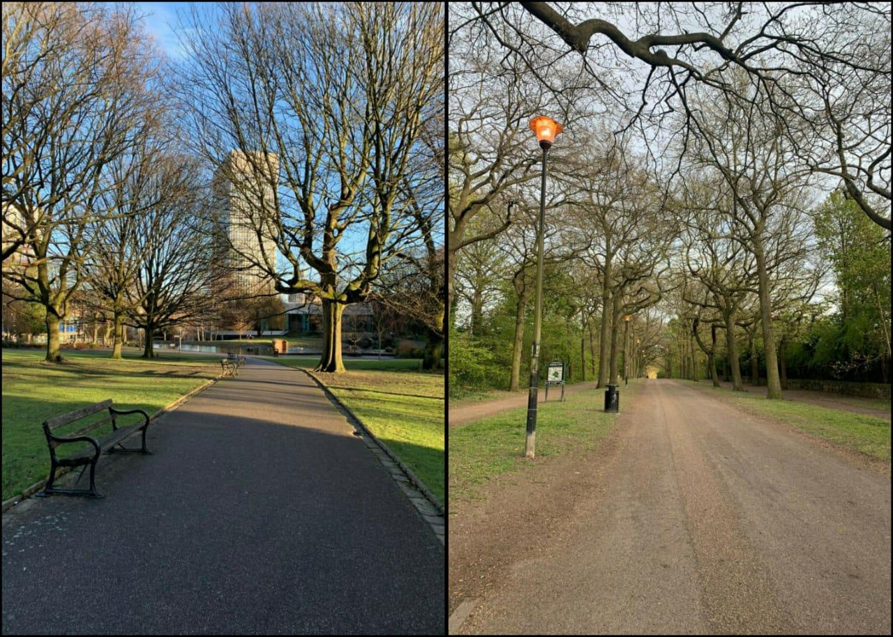 Weston Park dan Norfolk Park: Senangnya di UK banyak taman kota yang cantik sebagai selingan
