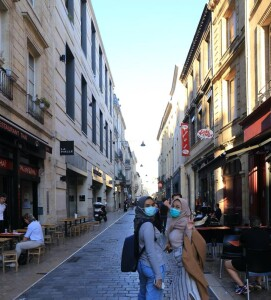 First time exploring Bordeaux in Autumn 2020