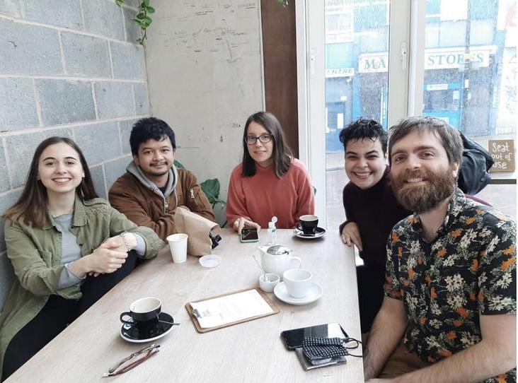 Berkumpul dengan penerima beasiswa Chevening di Goldsmiths UoL.