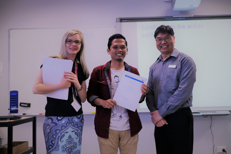 Mengikuti program mentoring yang dilaksanakan oleh Faculty of Education, Monash University. Sumber: Dokumentasi pribadi