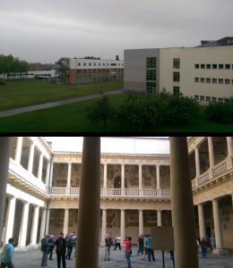 UNIPD campus: Campus di Agripolis in Legnaro (top) and campus in Padova (bottom)