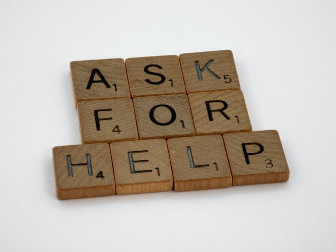 It's okay to need help